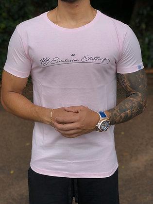 Camiseta Signature Basic Rosa Bebê