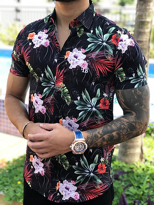 Camisa Leafs Flamingo Black