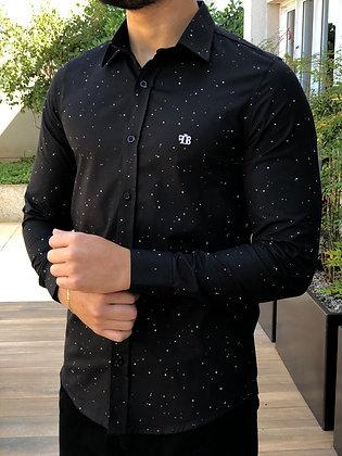 Camisa Aquarela Black