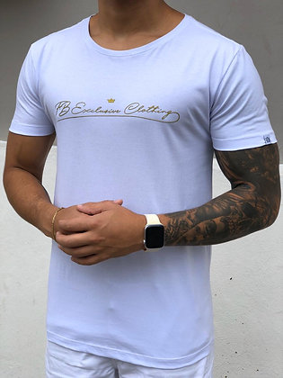 Camiseta Signature Basic Branca