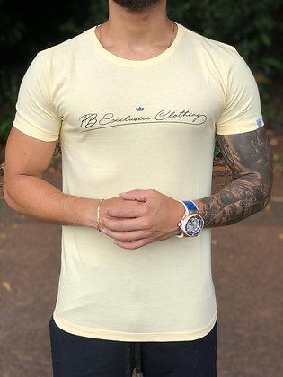 Camiseta Signature Basic Amarela