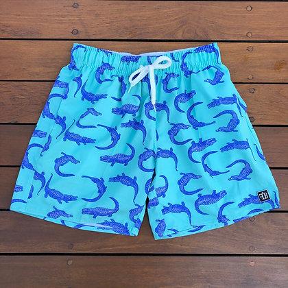 Shorts Aligator Green