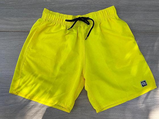 Shorts Magic Print Amarelo