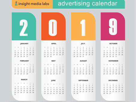 2019 Ad Calendar - Dates to Remember