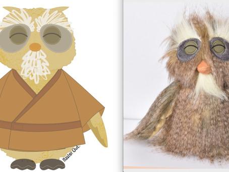 Master Owl gets fluffy!