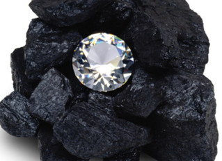 The coal and the diamond