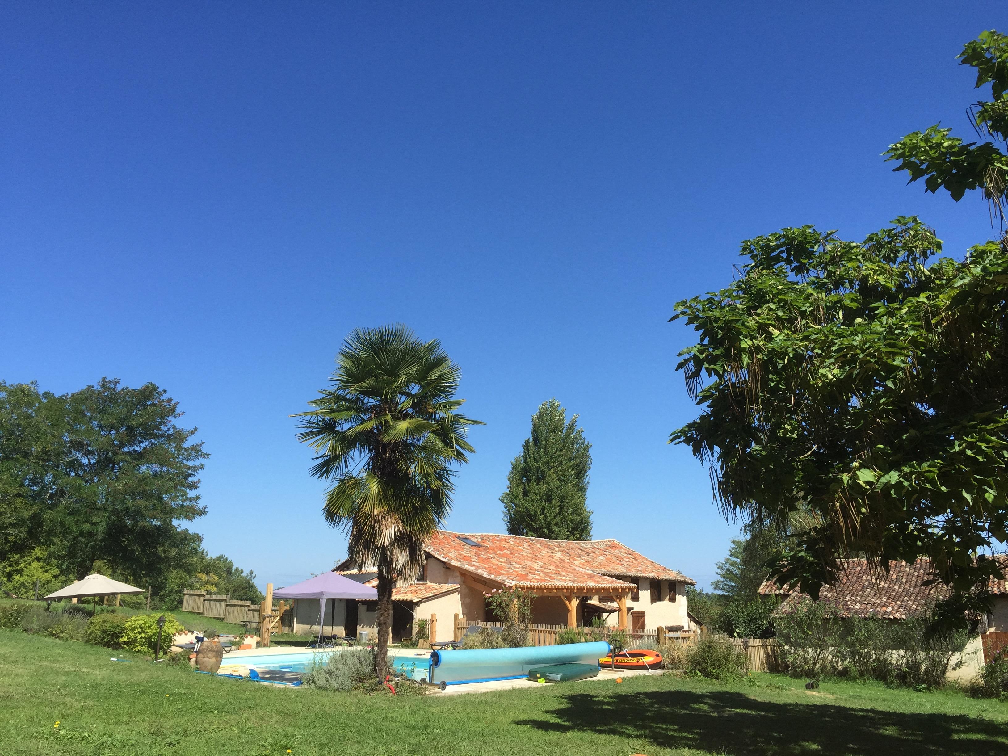 Le Fournet blue sky