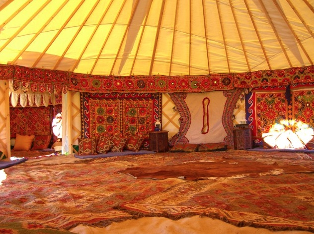wonderful yurt