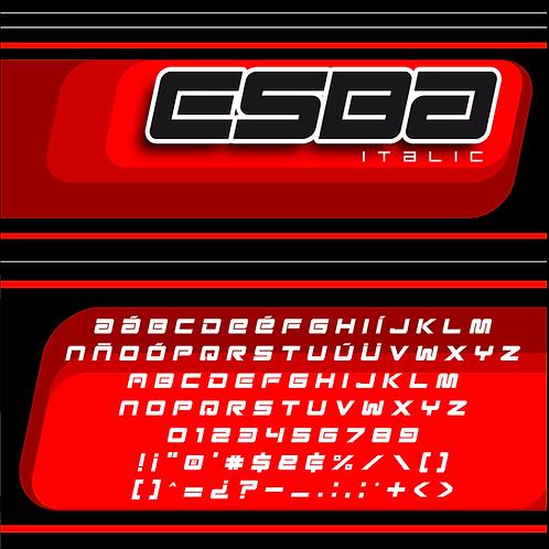 Esba - Italic