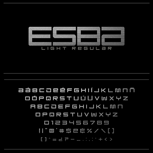 Esba - Light_Regular
