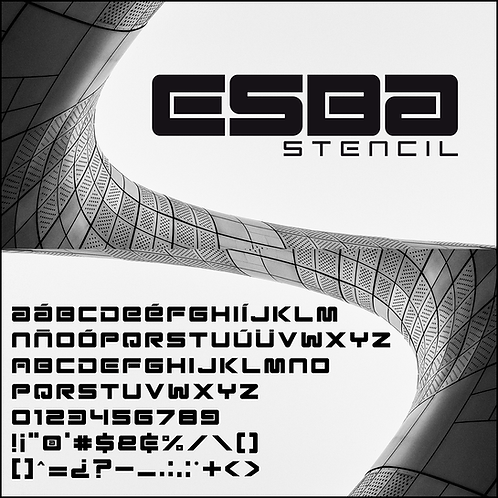 Esba _Stencil