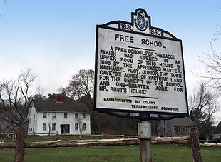 First Free School Room in Massachusetts