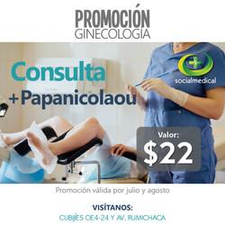 Ginecologia +Papanicolaou