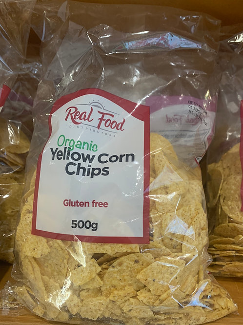 Real Food Organic Yellow Corn Chips