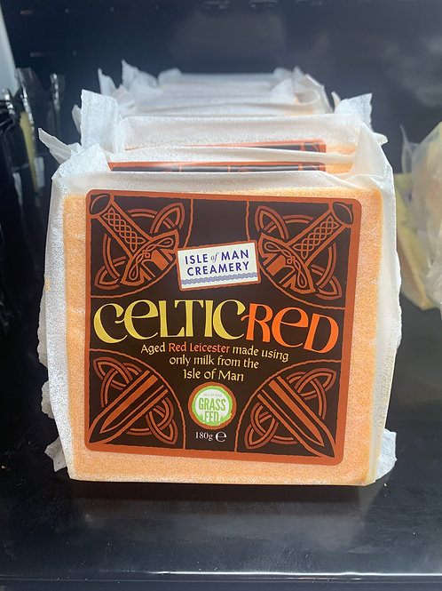 Celtic Red - Aged Red Leicester Isle of Man Creamery