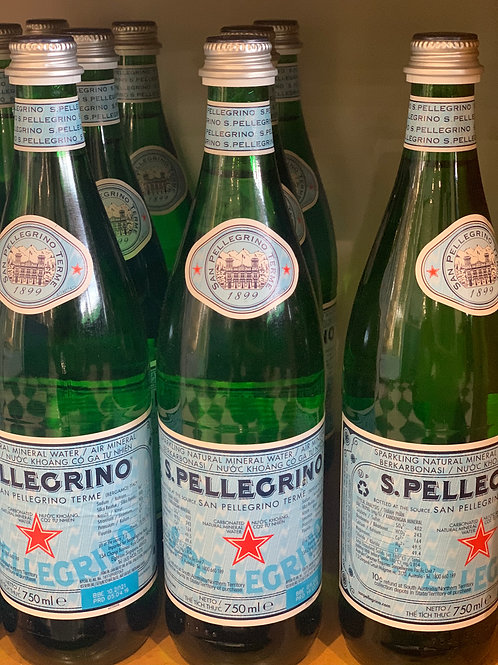 S.Pellegrino Natural Mineral Water 750ml
