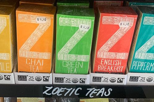 Zoetic Tea