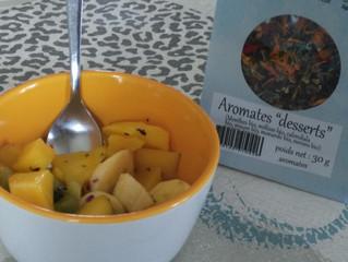 Salade de fruits exotiques rafraîchissante