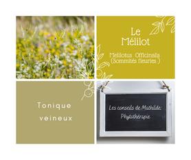 Les conseils de Mathilde: le Mélilot