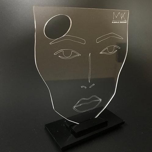face chart Makeup mixer