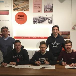 """GS Rancilio - Team Rancilio Juniores, primo passo verso la stagione 2019"""""""