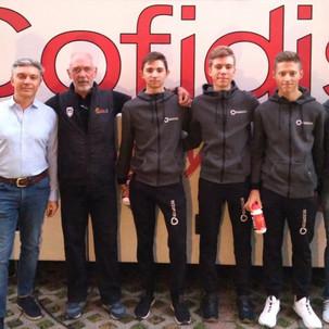 GS Rancilio - Ospite dal Team Professionistico Cofidis