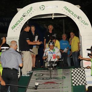 """GS Rancilio - """"spinge"""" Alex Zanardi nella sua gara più importante"""