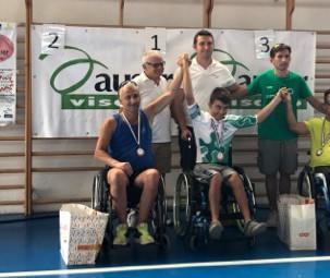 GS Rancilio - Team handbike al Campionato Regionale Lombardo di Visano - BS