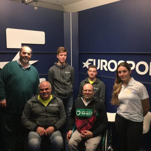 GS Rancilio - Visita agli studi televisivi di Eurosport