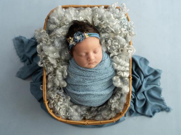 Baby Caliope  |  Camden Newborn Photographer