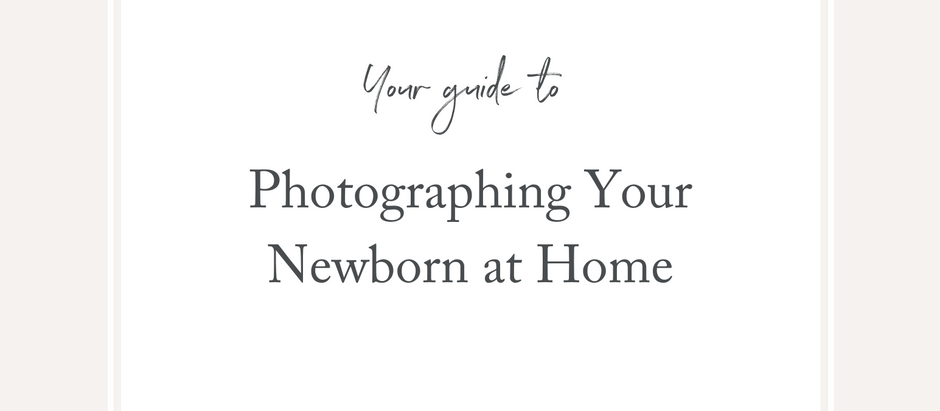 How to photograph your newborn at home during COVID-19