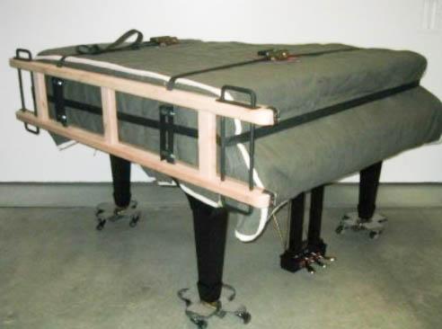 Prepravný klavírový obal