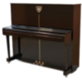 Petrof P 125 Lion Cut Cystral  Atelier Piano