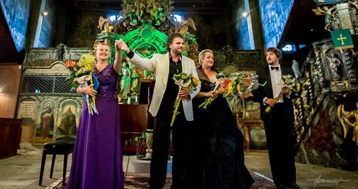 Operné gala v Kežmarku 2016-Júlia Grejtáková Peter Berger Mária Porubčinová Pavol Kubáň -foto Zdenko