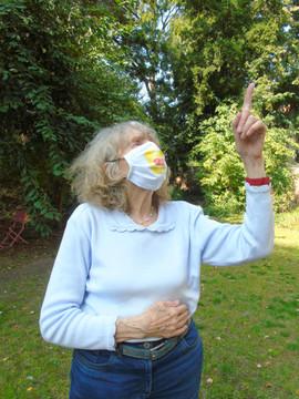 Personnaliser nos masques, c'est quand même  plus sympa!  Septembre 2020