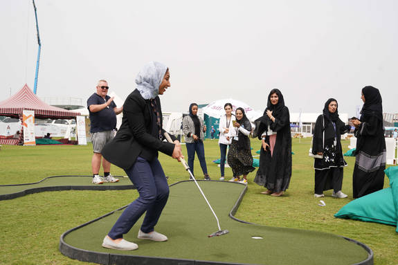 Ladies Day at the Oman Open