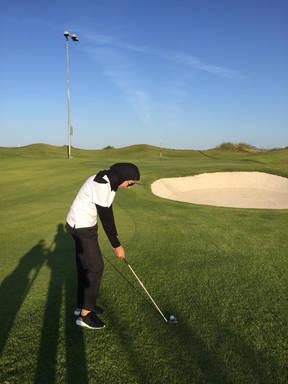 GOladies Al Mouj Par 3 Course