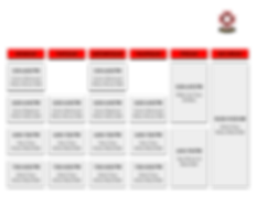 Dojo Schedule