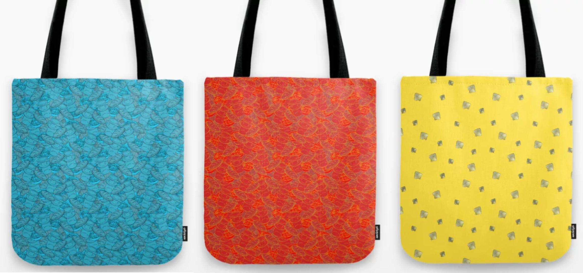 Tote Design in 3 Colors