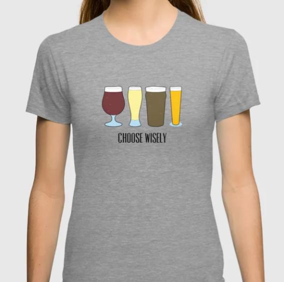 Choose Wisely Beer Glasses