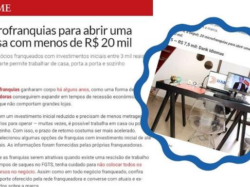 A Dank Idiomas está entre as 15 microfranquias para abrir uma empresa com menos de R$ 20 mil