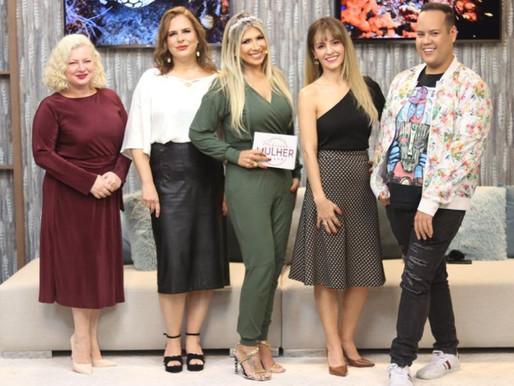 Dank idiomas no Programa Profissão Mulher, de Fernanda Comora na Rede NGT.