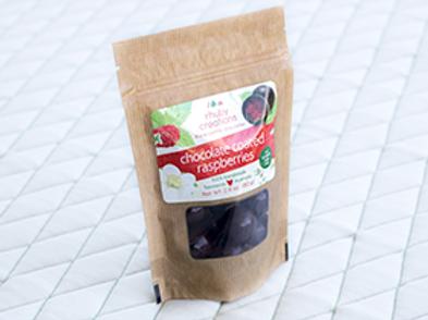 RHUBY CREATIONS - Choc Coated Raspberries