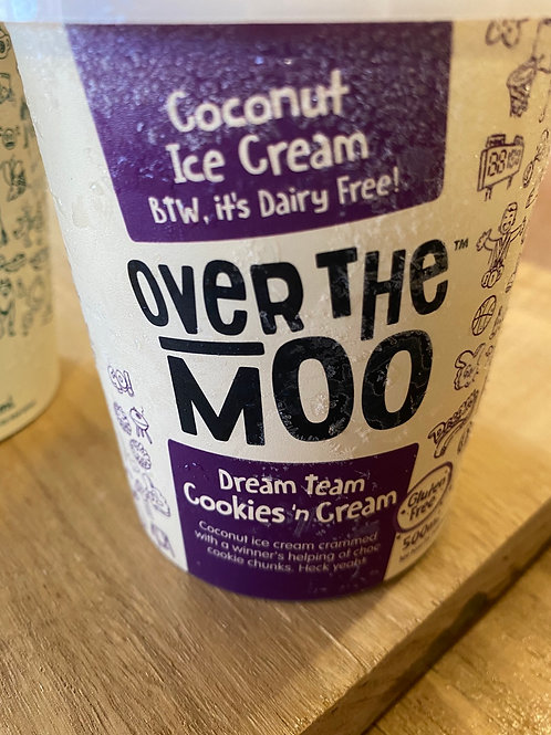 OVER THE MOO - Dream Team Cookies and Cream