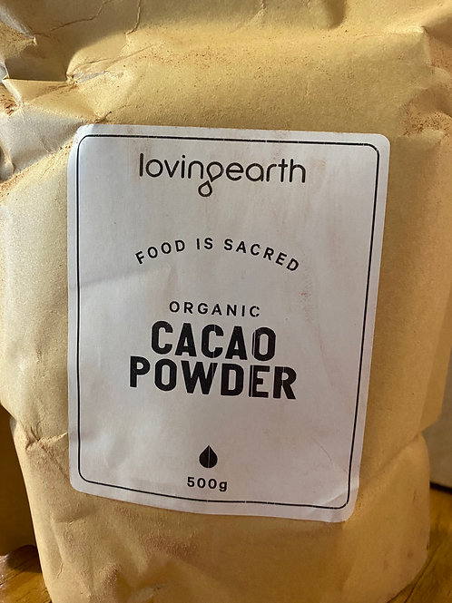 LOVING EARTH - Organic Cacao 500g