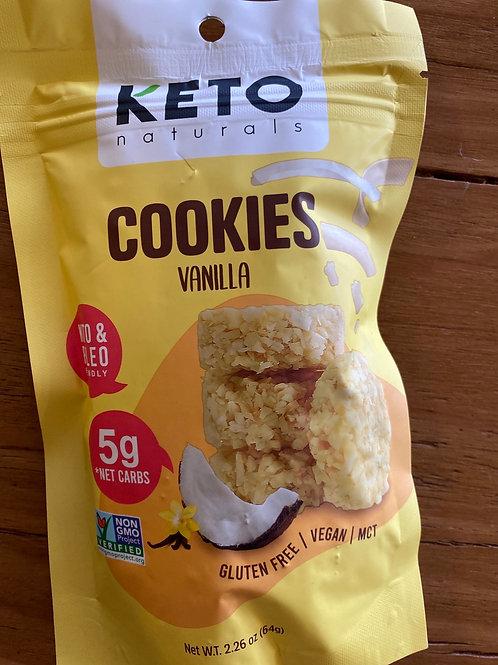 KETO NATURALS - Cookies, Vanilla