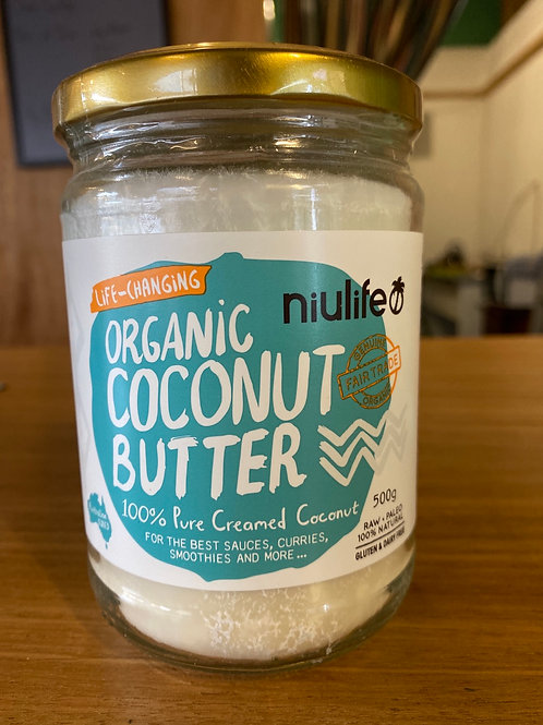 NIULIFE - Organic Coconut Butter 500g
