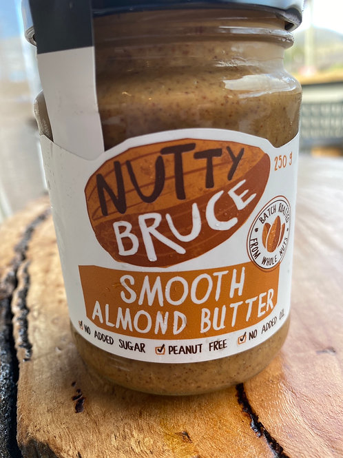NUTTY BRUCE - Almond Butter Smooth 250g