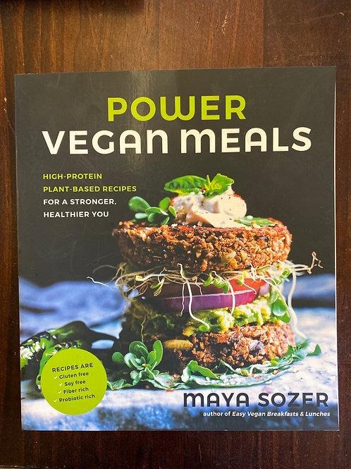 BOOK - Power Vegan Meals