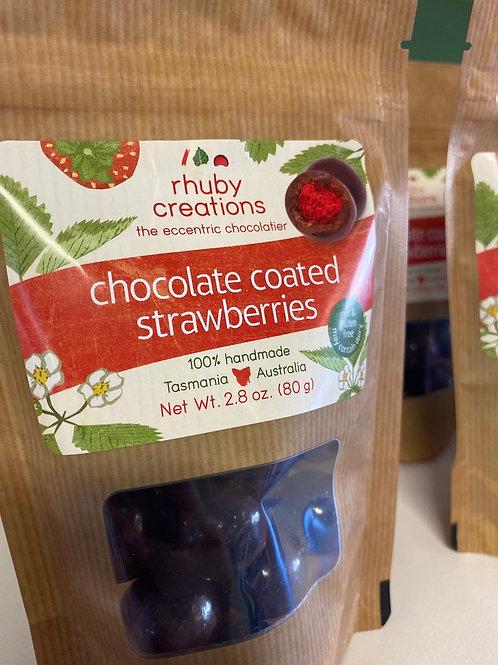 RHUBY CREATIONS - Chocolate Coated Strawberries